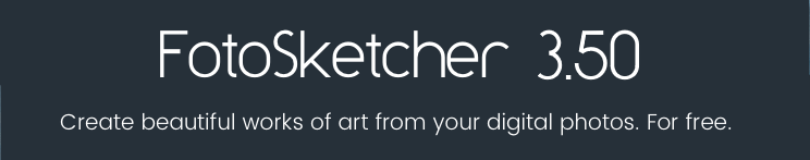 FotoSketcher 3.50